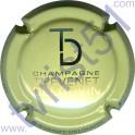 THEVENET-DELOUVIN n°14 crème et métal