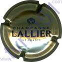 LALLIER : or pâle et noir