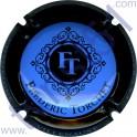 TORCHET Frédéric : bleu contour noir