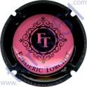 TORCHET Frédéric : rose contour noir