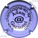 ADAM-GARNOTEL n°07 mauve et noir