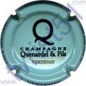 QUENARDEL & FILS n°28h turquoise pâle