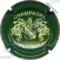 TRIPET-TRIOLET n°04 vert et crème
