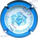 COMTE DE MONTPERTHUIS n°04c crème et bleu ciel
