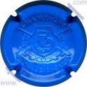 RICHARD-DHONDT n°08b estampée RD bleu