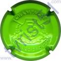 RICHARD-DHONDT n°08c estampée RD vert pomme