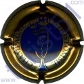 HOSTOMME M n°30 bronze et bleu striée
