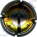 CHARLES HEIDSIECK n°43b contour rayé acier or-orangé