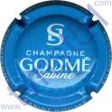 GODME Sabine n°03 bleu ciel et blanc