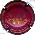 PORET Jany n°11 prune et or striée
