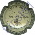 BERTRAND-LAPIE n°11 crème et noir striée
