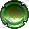 BEAUFORT Claude et Fils n°12 vert métallisé pâle et or