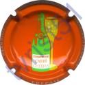 CARRE-GUEBELS n°15 fond orange