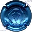 ASTREE Vincent : estampée bleu métal
