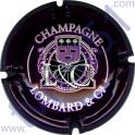 LOMBARD n°02 violet et blanc