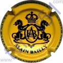 BAILLY Alain : jaune-orangé et noir