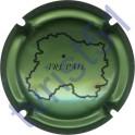 COIZY P. & F. n°07 vert métallisé et noir