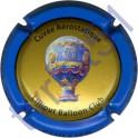 CUILLIER P. & F. n°28 Aérostatique contour bleu