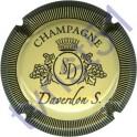 DAVERDON Sébastien n°07 crème et noir striée