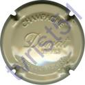 DUVAT & FILS : estampée gris-crème