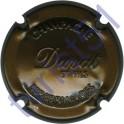 DUVAT & FILS : estampée marron métallisé