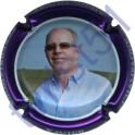 DUVAT Albéric n°37 Xavier contour violet métallisé