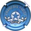 FAGOT François : petites lettres bleu ciel
