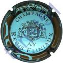 FLINIAUX Régis n°23 bleu pâle contour marron