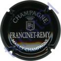 FRANCINET-REMY n°12 noir et argent