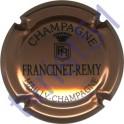 FRANCINET-REMY n°14 cuivre-rsoé et noir