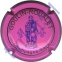GOULIN-ROUALET n°22 inscription contour rose foncé