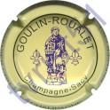 GOULIN-ROUALET n°23 inscription contour crème
