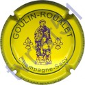 GOULIN-ROUALET n°25 inscription contour jaune