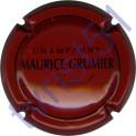 GRUMIER Maurice n°23 bordeaux et noir
