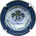 GUERLET-DEGUERNE n°11 contour bleu fond bleuté