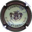 GUERLET-DEGUERNE n°20e crème contour marron clair ( prune )