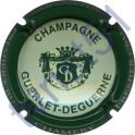 GUERLET-DEGUERNE n°20d crème contour vert