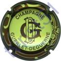 GUERLET-DEGUERNE n°26 vert pâle contour marron