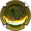 HARLIN n°09 or-jaune et noir