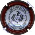 HERBELET C. n°04 contour bordeaux