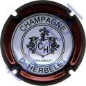 HERBELET C. n°09 contour bordeaux foncé