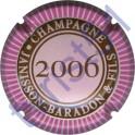 JANISSON-BARADON n°16c millésime 2006 contour rose