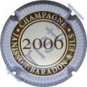 JANISSON-BARADON n°16d millésime 2006 contour mauve pâle
