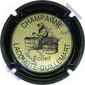 LACOURTE-GUILLEMART n°10d contour noir fond crème
