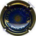 BOREL-LUCAS n°03 bleu et or striée