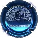 JOREZ-LEJEUNE : bleu métallisé et blanc