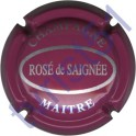 MAITRE n°13a Rosé de Saignée lie de vin et argent