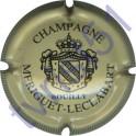 MERIGUET-LECLABART n°01 crème et noir striée