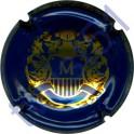 MIGNON Charles : bleu et or brillant