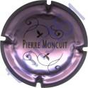 MONCUIT Pierre : rosé-violacé
